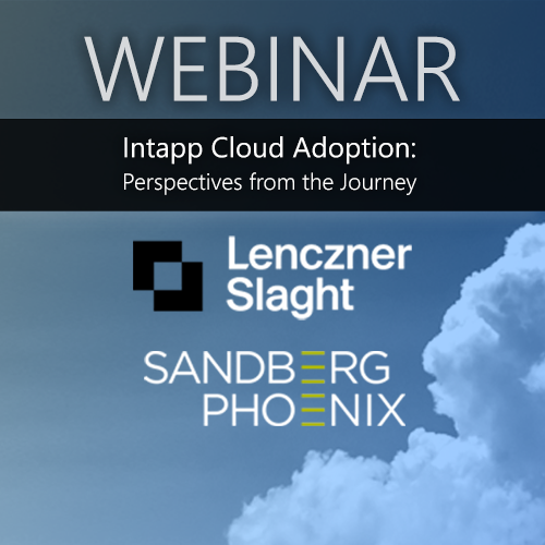 Webinar — Intapp Cloud Conversations: Perspectives on the Journey